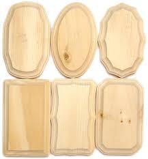 wood plaque demis wood plaques 3 1 8 x 5 1 8 in assortment 72 pieces