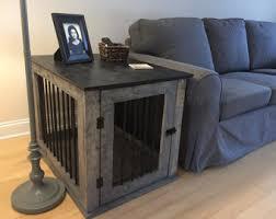 Dog Crate Furniture Bench Dog Crate Furniture Etsy