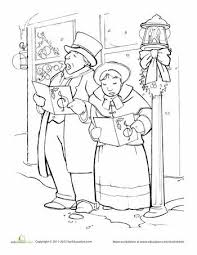 19 victorian christmas coloring pages images