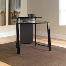Modern Glass Desks For Home Office by Wonderful White Tempered Glass Desk Pics Inspiration Surripui Net