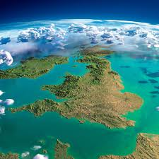 Great Britain On World Map by Exaggerated Relief Map Of Great Britain And Ireland 5000x5000