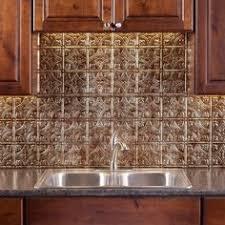 Tin Backsplash For Kitchen by Punched Tin Backsplash Behind Stove Kitchen Fan Of