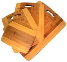 amazon com 4 piece bamboo cutting board set four convenient wood