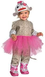 sock monkey ballerina baby costume mr costumes