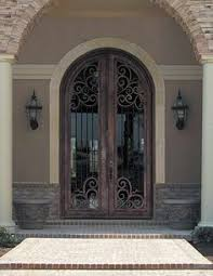 Exterior Doors Houston Tx Arched Door With Glass Arched Single Front Door With Wrought