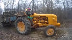 tracteur en bois débardage de bois en d30 youtube