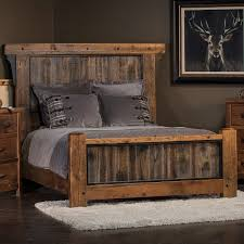Western Bed Frames Barn Wood Bed Frame Barn Wood Bed Reclaimed Wood Bed Western Bed