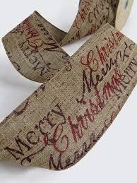 wide christmas ribbon 63mm merry christmas ribbon