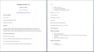 Resume Sample Undergraduate by Jobresumeweb Sample Resume For Middle Students