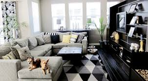 Black White Grey Living Room Ideas Best  Grey Living Room - Black living room decor