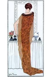 tangerene hostess gown 1920s 1920s fashion fashion prints