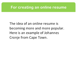 Creating An Online Resume by Types Of Wikis