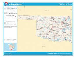 Okc Zip Code Map Map Of Oklahoma Na U2022 Mapsof Net