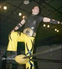 Blind Rage Wrestler Mike Quackenbush