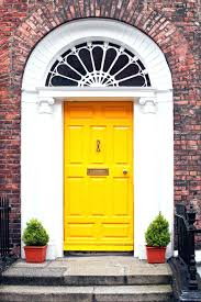 articles with yellow paint for front door tag compact colours for