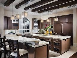 two island kitchen the island trend practical luxury platinum kitchen designs