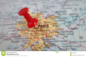 Map Paris France by Paris Map Royalty Free Stock Image Image 35628516