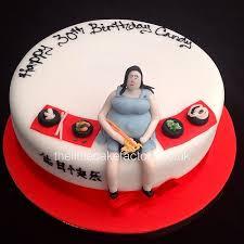 pregnant lady eating chinese birthday cake pregnant tummy