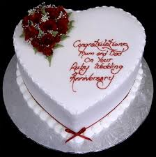 Simple Wedding Anniversary Cake Ideas Sweets Wedding Anniversary