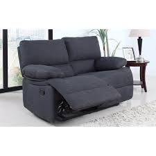 Loveseat Recliners Madison Traditional Dark Oversize Recliner Loveseat Loveseats