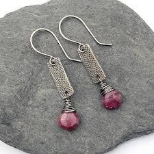 grunge earrings post or stud earring packaging jewelry journal