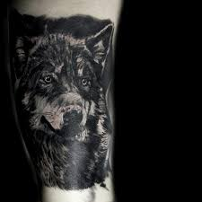 wolf cover up by mattlock lopes tattoonow