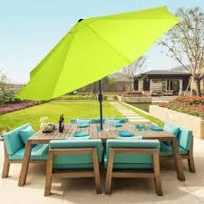 Patio Furniture Umbrella Patio Umbrellas You Ll Wayfair