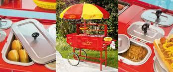 hot dog machine rental hot dog cart rentals conrad s concessions