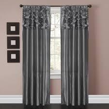 Window Curtain Decor Circle Window Curtain Set Lush Decor Www Lushdecor