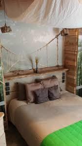 chambre bois flotté lit chambre bois flotté photo de green ecolodge valdeblore