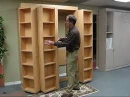 sliding bookcase murphy bed awesome sliding bookcase murphy bed door doors hidden regarding