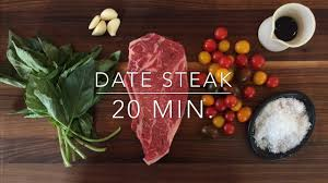 Romantic Dinner At Home by Romantic Date Night Steak Dinner For Two Recipe Ready In 20
