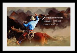 day 25 a cowboy a the one thing qi2courage