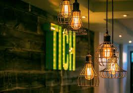 restaurant wood room interior lighting design modern chainimage