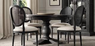 Dining Room Tables Restoration Hardware - round table furnishings pinterest restoration hardware