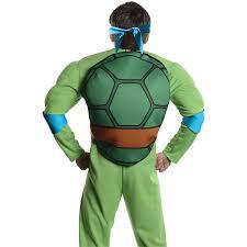 Leonardo Ninja Turtle Halloween Costume Buy Teenage Mutant Ninja Turtles Deluxe Leonardo Costume