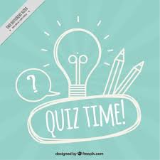 blue free light bulbs blue quiz background with light bulb and pencils vector free download