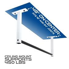 amazon com ceiling mount pull up bar for 8 u0027 ceilings sports