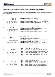 division worksheets for 3rd grade 2 digits by 1 digit 5 math