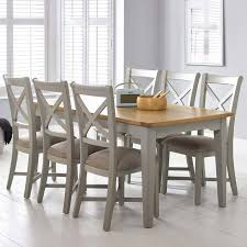 Large Extending Dining Table Bordeaux Painted Light Grey Large Extending Dining Table 6