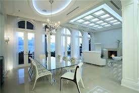 Contemporary White Dining Room Sets - 126 custom luxury dining room interior designs