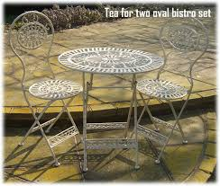 Cast Iron Bistro Chairs Cast And Wrought Iron Patio Garden Furniture Uk