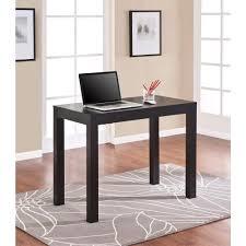 Oak Desk Furniture Altra Furniture Parsons Desk With Drawer In Black Oak 9178396