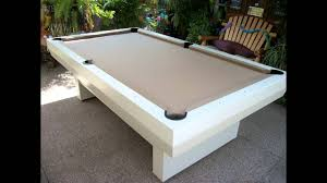 all weather outdoor pool table 2000 series video youtube