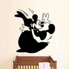 fascinating diy halloween wall art wall decals mickey mouse design