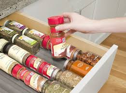 In Drawer Spice Racks 7 Best Youcopia Spiceliner In Kitchen Drawer Spice Organizer 6