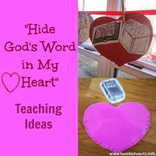 hide god s word in my teaching ideas humble hearts