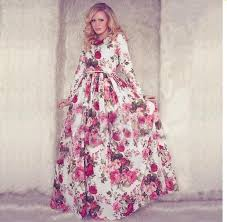 maxi dress with sleeves new women floral maxi dress 2015 summer sleeve o neck
