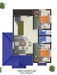 home design 3d elevation 1960 sq ft modern kerala home plan 3d elevation indian home design