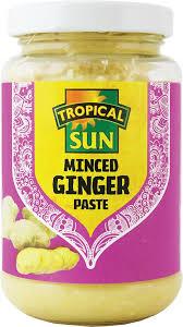 tropical sun minced ginger u0026 garlic paste jar 1kg